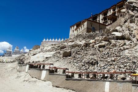 ladakh: Leh Palace in Ladakh India  Stock Photo