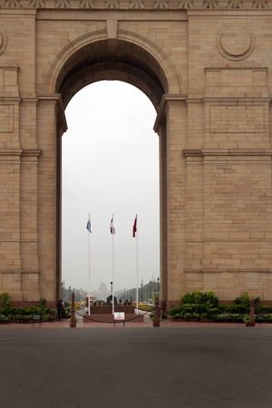 archway: Indian gate, New Delhi, India