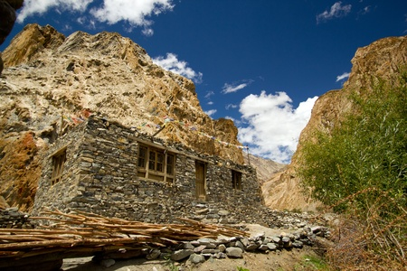 Mountain home stay in Leh, North India  photo