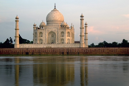 Taj Mahal in Agra, India  photo