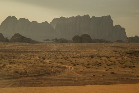 wadi: Landscape picture of Wadi Rum