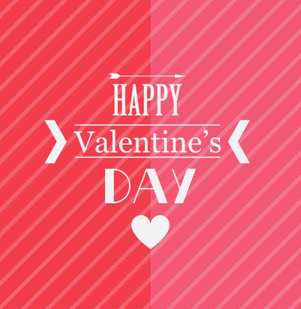 Valentine day card. 向量圖像