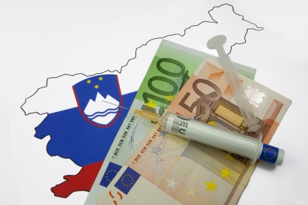 Euro injection into Slovenia - euro crisis