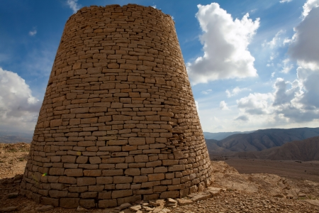 burial: Ancient burial site - Oman