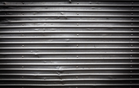 Real Damaged Metal Background with Lines