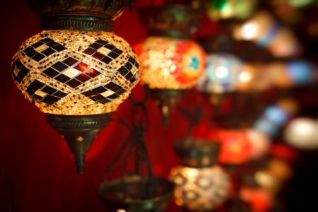 Turkish light with nice blured background Stock Photo
