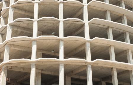 Empty building structure
