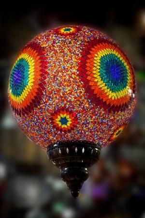 Beautiful colorful light on arabic market - islam, Istanbul