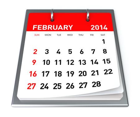 February 2014 - Calendar photo
