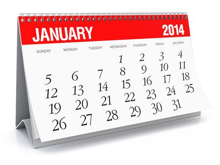 January 2014 - Calendar photo