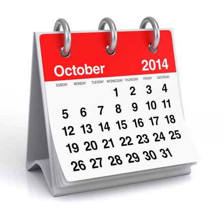 Oktober 2014 - Kalender