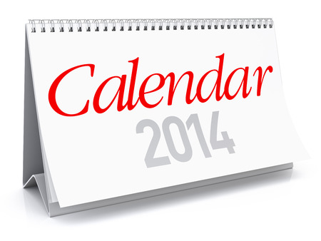 Calendar 2014 photo