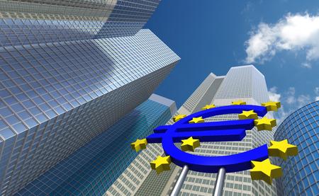the central bank: European Central Bank