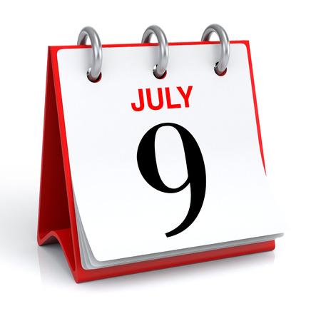 personel: July Calendar