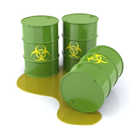 bio hazard: Bio hazard Barrel Stock Photo