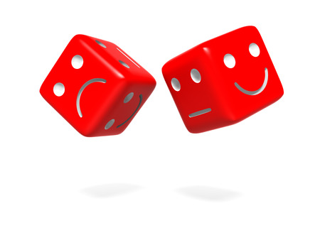 Upset and Happy Dices