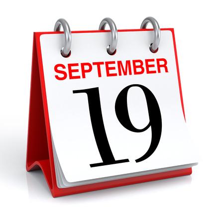 personel: September Calendar