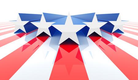 bandera blanca: Bandera americana