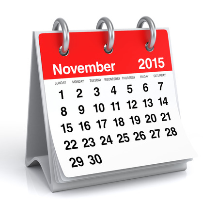 november: November 2015 - Calendar