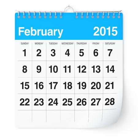 February 2015 - Calendar photo