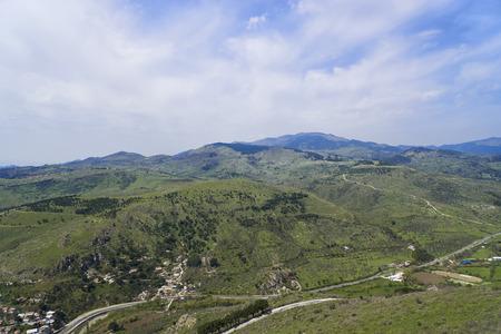 bird's eye view: Birds eye View of the Bergama