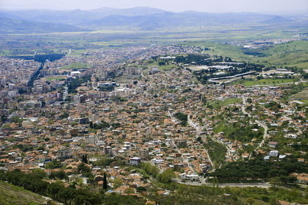 birds eye view: Birds eye View of the Bergama