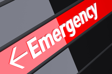 emergency sign: Emergency Sign