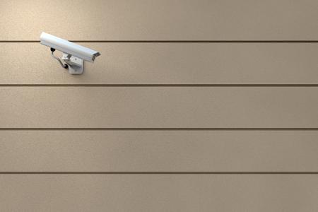 security system: Surveillance Camera Stock Photo