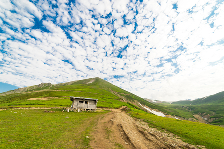 glades: Summer Mountain Plateau Highland with Artvin, Turkey