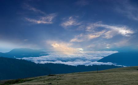 Sunrise at Gito plateu, Kackar mountains. Rize - Turkey