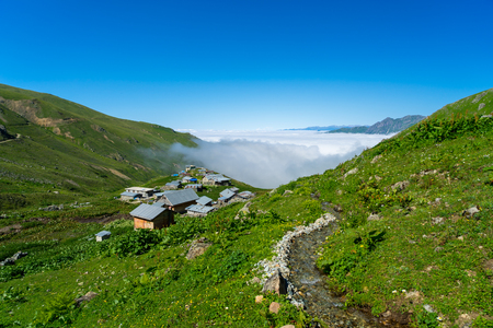Kackar mountains. Rize - Turkey Standard-Bild