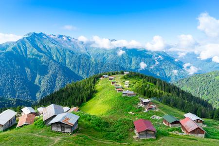 Pokut Plateau Rize Camlihemsin Turkey Фото со стока