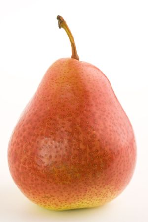 Pear on a white background photo