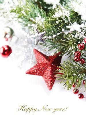 sample text: Brillante de composici�n de Navidad, con estrellas y texto de ejemplo  Foto de archivo