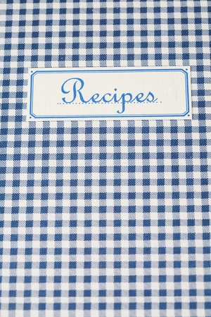The book of recipes  Stock Photo - 10874203