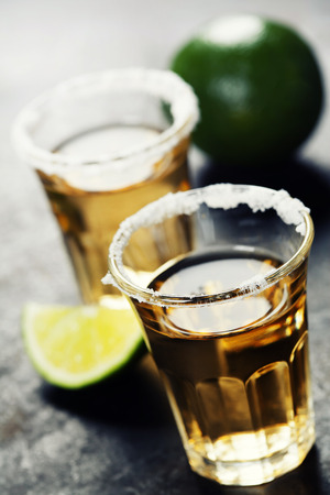 tequila: Tequila Shots Stock Photo