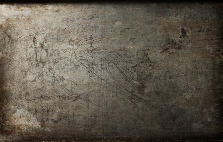oxidado: Textura del fondo del metal oxidado Foto de archivo
