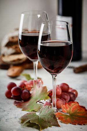 Composición del vino tinto