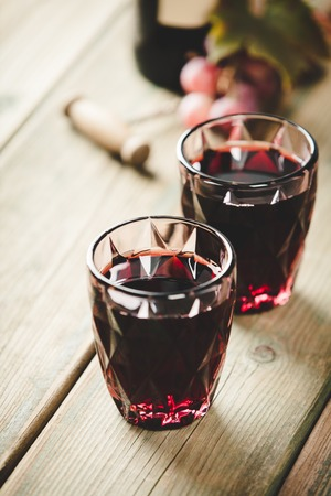 Red wine composition Reklamní fotografie