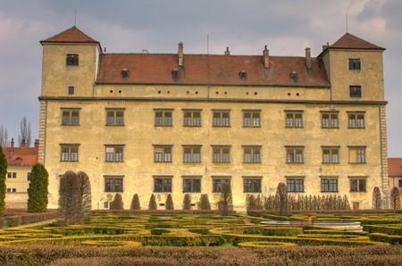 Chateau in Bucovice, Czech