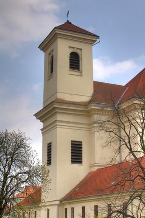 Church in Bucovice, Czech republic