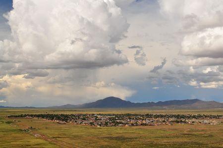 Argentina plains near Abra Pampa, Jujuy