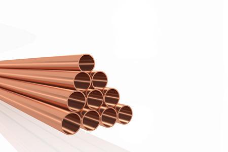 Copper tubes in a virtual rack