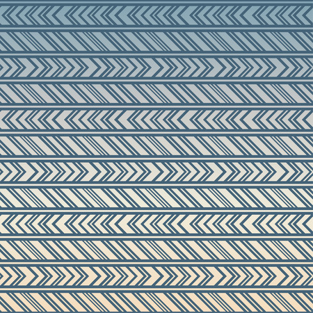 pastel like: Tribal seamless pattern. American Indian or asian motif. Pastel vector illustration. Good for frames, borders and like a background. Abstract geometric collection. Stripes in ethnic style Illustration