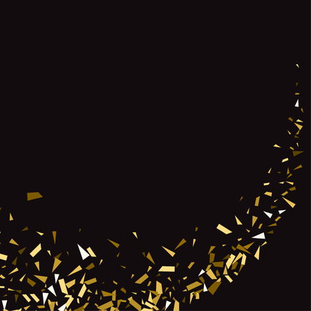 sand background: Abstract gold glitter splatter background for the card, invitation, brochure, banner, web design. Illustration