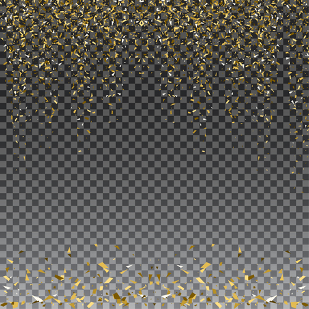 exclusive: Abstract gold glitter splatter background for the card, invitation, brochure, banner, web design. Illustration