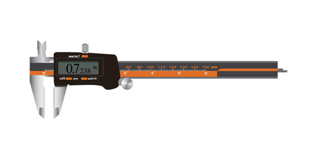 fixed line: Electronic Digital Caliper with screen auto off featured measuring tool.