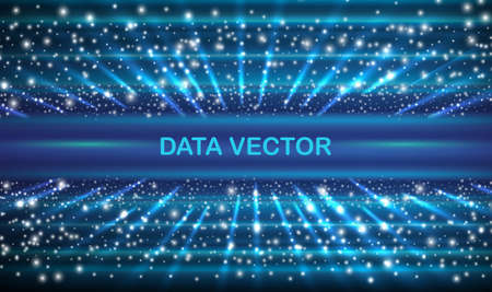 Speed connection vector background. Database data transfer. Vector illustration