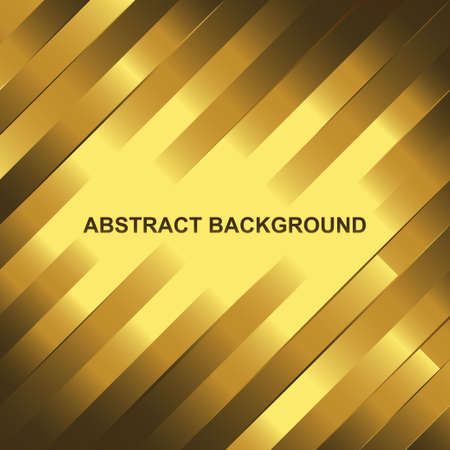 Abstract geometric line background with gold glitter effect, vector illustration. Illustration