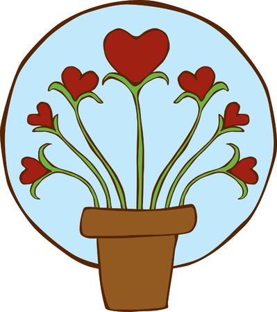 Growing Hearts Plant